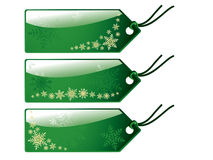 Christmas shopping tags. More christmas vectors in my portfolio Stock Photography
