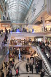 Christmas Shopping in Toronto Royalty Free Stock Photo