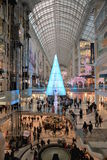 Christmas Shopping in Toronto Royalty Free Stock Photography