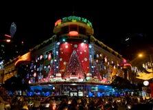 Christmas shopping in Vietnam Royalty Free Stock Photo