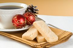 Christmas Shortbread Royalty Free Stock Photography