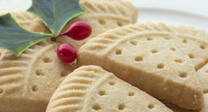 Christmas Shortbread. Stock Image