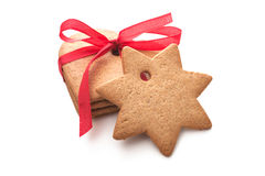 Christmas shortbread cookies Stock Images