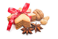 Christmas shortbread cookies Royalty Free Stock Photography