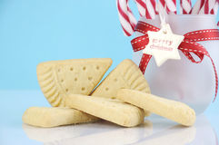 Christmas shortbread Stock Images