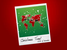 Christmas shot vector illustration