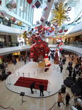 Christmas show in IFC Mall Royalty Free Stock Photos