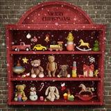 Christmas showcase Stock Photo