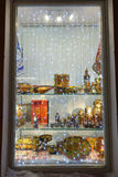 Christmas showcase Stock Image