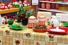 Christmas showroom Stock Image