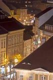 Christmas in Sibiu, Romania Stock Images