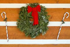 Christmas_Siding Foto de Stock Royalty Free