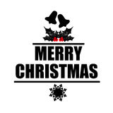 Christmas sign illustration background vector design celebration Stock Photo