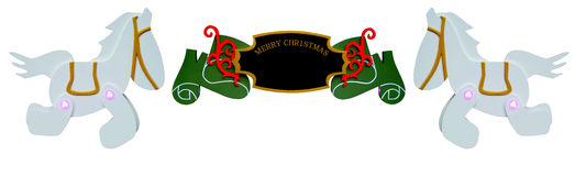 Christmas Sign Ornament Royalty Free Stock Photos