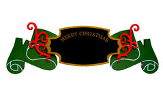 Christmas Sign Ornament Stock Photo