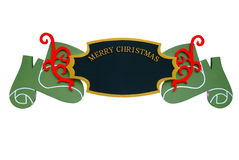 Christmas Sign Ornament Royalty Free Stock Image