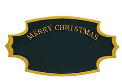 Christmas Sign Ornament Stock Photos