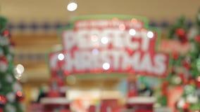 Christmas sign Perfect Christmas stock video