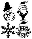 Christmas signs. Stock Photo