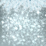 Christmas silver abstract background. Royalty Free Stock Photos