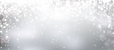 Christmas silver abstract background Stock Images
