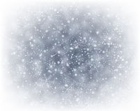 Christmas silver abstract background. Silver winter abstract background. Christmas background with snowflakes. Vector Royalty Free Stock Images
