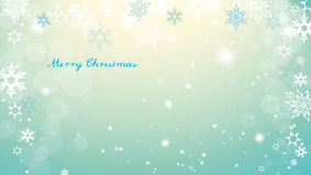 Christmas silver background with snowflakes Royalty Free Stock Photo