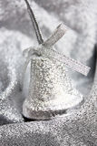 Christmas silver decoration Royalty Free Stock Photos