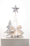 Christmas  silver decoration Stock Photography