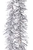Christmas silver tinsel. Stock Photography