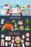 Christmas situation backgrounds Royalty Free Stock Image