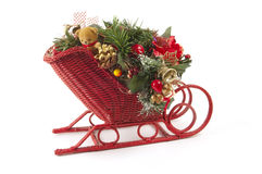 Christmas Sled Stock Image