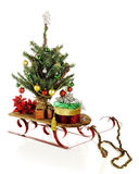 Christmas Sled Stock Photos