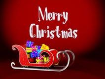 Christmas sledge Royalty Free Stock Photo