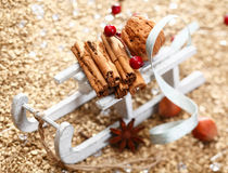 Christmas sledge Stock Photo