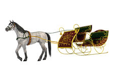 Christmas Sleigh Stock Photography