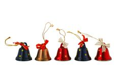 Christmas small bell Stock Images