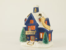 Christmas small house stock photo