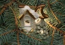 Christmas small house Royalty Free Stock Photo