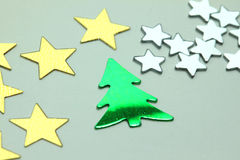 Christmas small ornaments Royalty Free Stock Photography