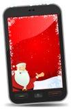 Christmas Smartphone Wallpaper Stock Image