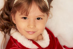 Christmas smile Royalty Free Stock Image