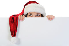 Christmas Smiling Woman Stock Image