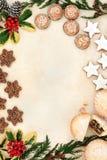 Christmas Snack Food Royalty Free Stock Photo