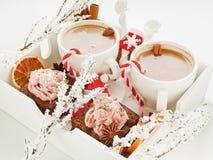 Christmas snacks Stock Photo
