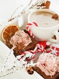 Christmas snacks Stock Image
