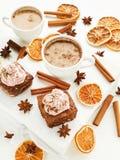 Christmas snacks Royalty Free Stock Photo