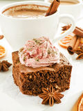 Christmas snacks Royalty Free Stock Images