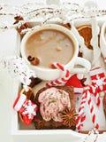 Christmas snacks Royalty Free Stock Photography