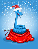 Christmas snake Stock Photos